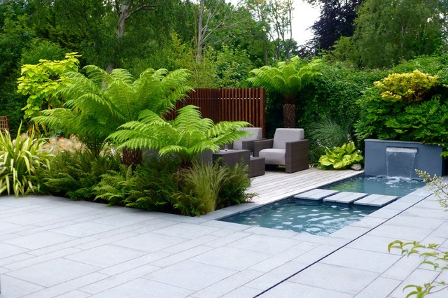 tropical garden in northwood contemporary garden london by rh houzz co uk contemporary tropical garden design contemporary tropical garden design