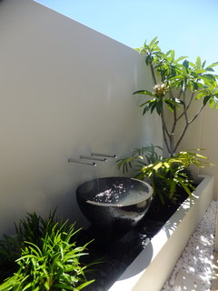 Tropical Modern Small Spaces Tropical Landscape Perth By Solscapes