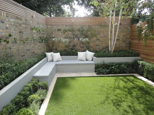 7 gorgeous gardens you won 39 t believe have artificial for Garden design ideas artificial grass