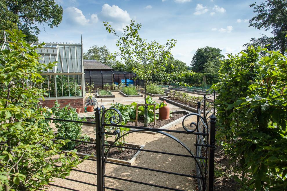 Vegetable Garden, Cheshire by Barnes Walker Landscape ...