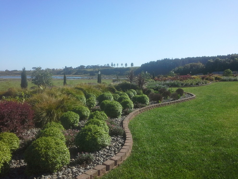 Whitford Country Garden - Transitional - Landscape ...