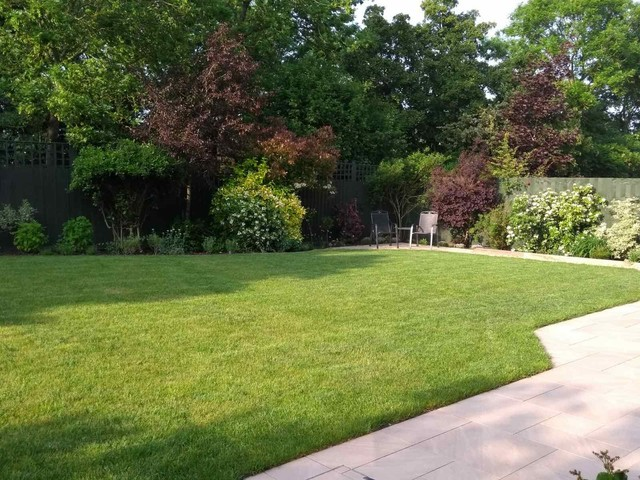 Wide Shallow Garden American Traditional Garden Other By