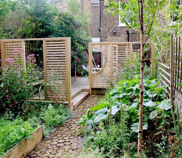 Wild Garden, East London contemporary-landscape