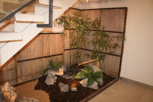 Zen garden under stairs asian garden london by the for Garden design under the stairs