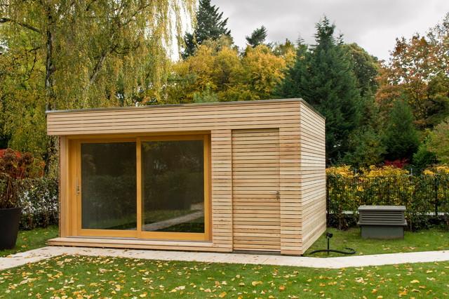 Gartenhaus Design Flachdach | Die schönsten Einrichtungsideen
