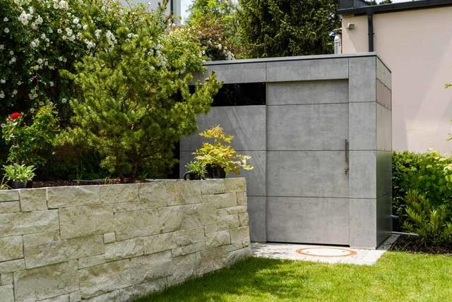 Dachau gart individual sichtbeton minimalistisch gartenhaus m nchen von design garten - Gartenhaus einrichtungstipps ...