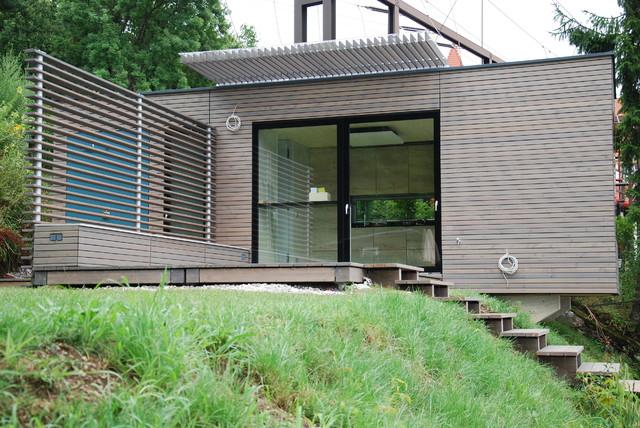 Eunido cube4 velden modern gartenhaus von eunido e u for Gartenhaus modern einrichten