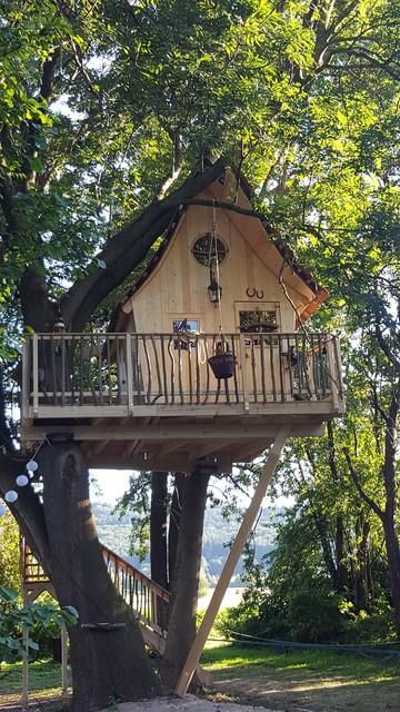 F r hexen und zauberer rustikal gartenhaus hannover von baumleben - Hexen gartenhaus ...