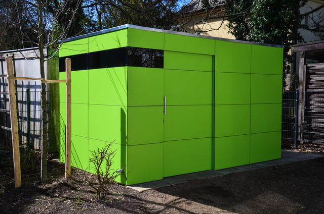 Design Gartenhaus münchen design gartenhaus gart lime green