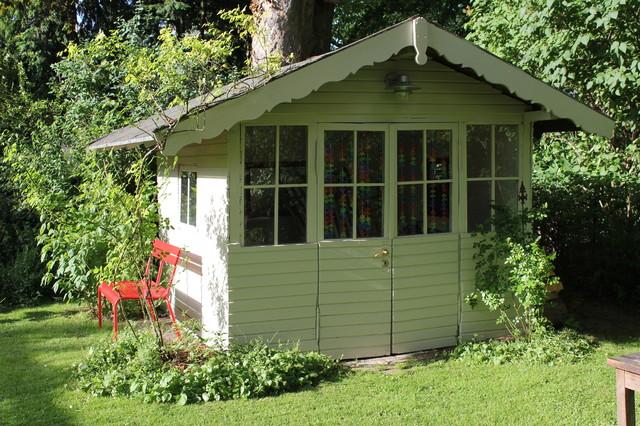 Gartenhaus Farbe Bilder