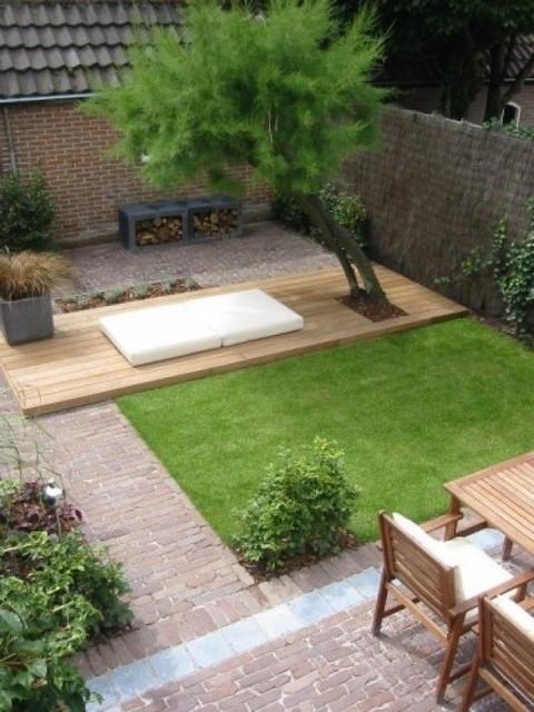 Piccoli giardini in citt for Giardini moderni piccoli