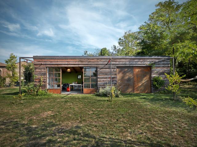 Val Tidone private house jardin
