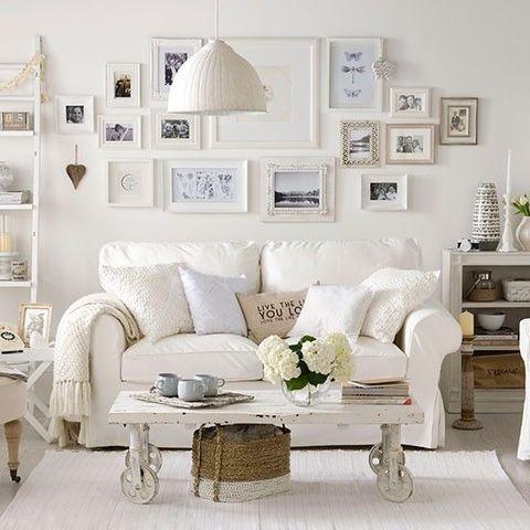 38 Charming Shabby Chic Living Room Designs - Shabby-Chic ...