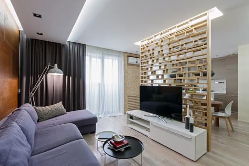 Интерьер современной квартиры в Запорожье