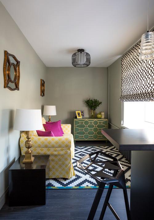дизайн однокомнатной малогабаритной квартиры фото