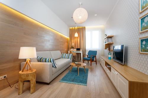 Как сделать узкую комнату удобнее. 5 магических секретов