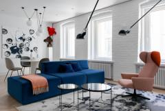 Houzz Москва: квартира в старом фонде — для пары французов