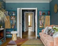 Houzz Tour: Vibrant Color With a Retro Touch