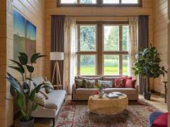 Houzz тур: Дом для большой семьи в духе русской усадьбы
