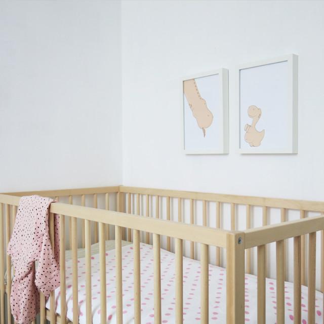 Habitaciones beb scandinavian nursery valencia by - Vinilos habitaciones bebe ...