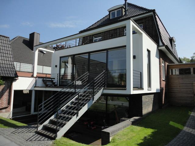anbau backstein villa hamburg. Black Bedroom Furniture Sets. Home Design Ideas