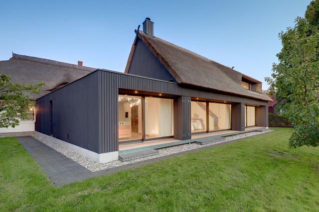 Moderner anbau an altbau heimdesign innenarchitektur for Haus anbau modern