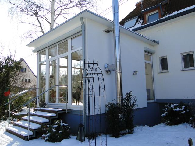 anbau einfamilienhaus modern h user sonstige von p2 architektur mit energie. Black Bedroom Furniture Sets. Home Design Ideas