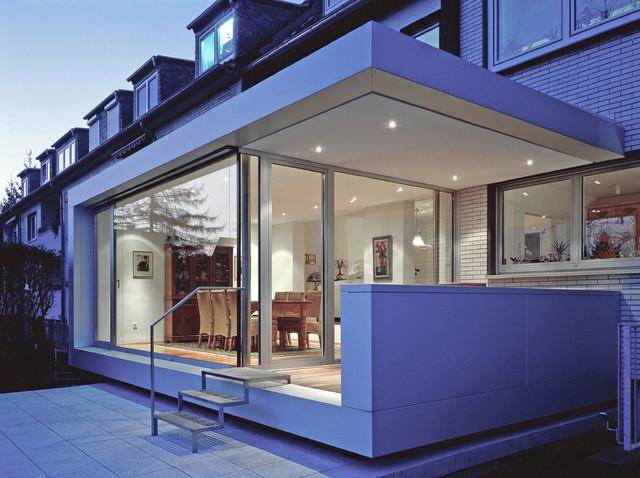 anbau haus t contemporary exterior munich by stufe 4 architektur. Black Bedroom Furniture Sets. Home Design Ideas