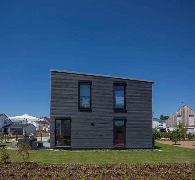 Architektenhaus von kitzlingerhaus mit pultdach for Architektenhaus modern