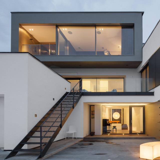 aufstockung einer cma villa in vallendar 2014. Black Bedroom Furniture Sets. Home Design Ideas