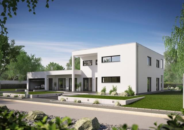 Bauhaus ixeo minimalistisch h user sonstige von for Hausbau moderner baustil
