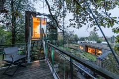 Architecture : Comme une cabane dans les arbres en Allemagne