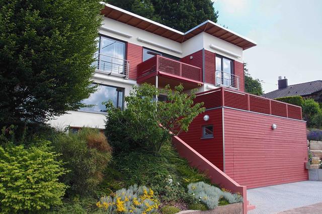 behindertengerechte aufstockung eines wohnhauses contemporary exterior other by. Black Bedroom Furniture Sets. Home Design Ideas
