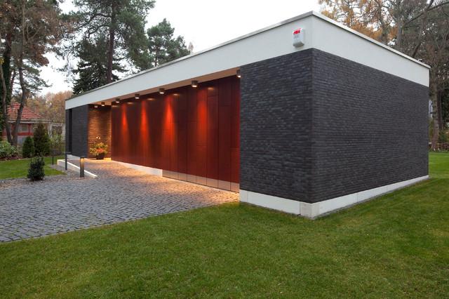 architekten bungalow in potsdam modern haeuser