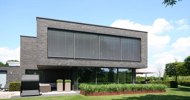 Deichland minimalistisch haus fassade bremen von for Haus minimalistisch