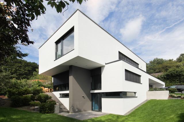 Designhaus flachdach taunus for Haus modern flachdach