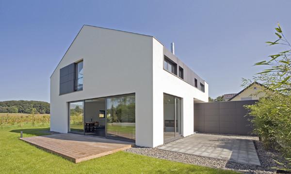 Moderne fassaden einfamilienhäuser  Einfamilienhaus F Köln