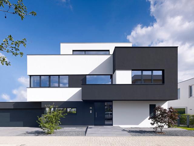 Köln widdersdorf modern haus fassade köln von archicraft