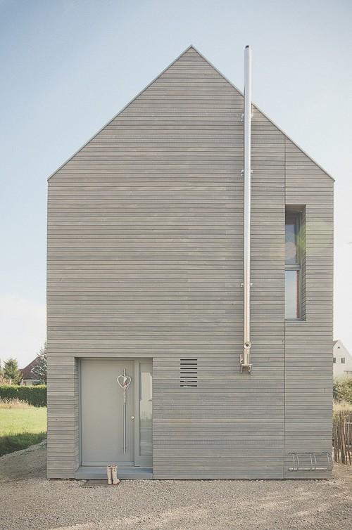 Einfamilienhaus in vorgefertigter Bauweise
