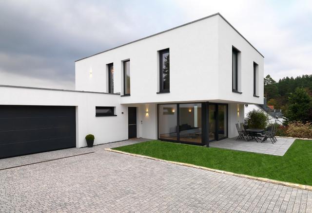 Einfamilienhaus Modern einfamilienhaus mit burgblick contemporary exterior berlin