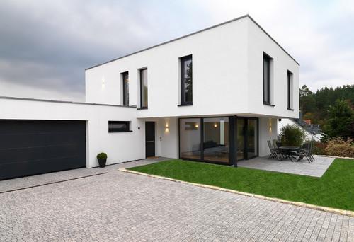 Ral farbe fenster for Fassade einfamilienhaus modern