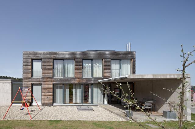 Einfamilienhaus Pr05 Contemporary Exterior Stuttgart
