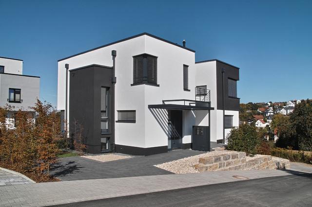 einfamilienwohnhaus idstein modern haus fassade frankfurt am main von gerhard guckes. Black Bedroom Furniture Sets. Home Design Ideas