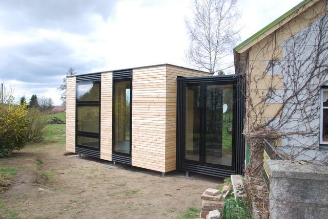 eunido cube4 hausanbau modern h user sonstige. Black Bedroom Furniture Sets. Home Design Ideas