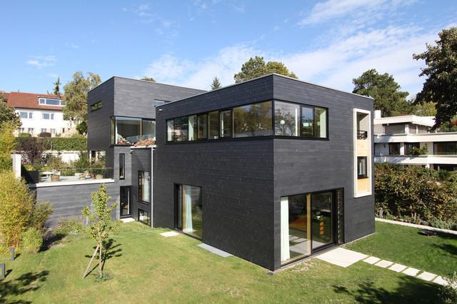 Fassadengestaltung modern  Fassadengestaltung mit Schiefer - Modern - Häuser - Sonstige - von ...