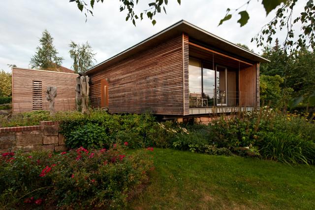 Haus Modern Fassade Holz V Sledek Obr Zku Pro Haus Modern Fassade