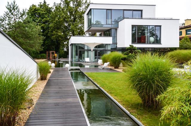 modern haus und fassade - Garten Aufbewahrung