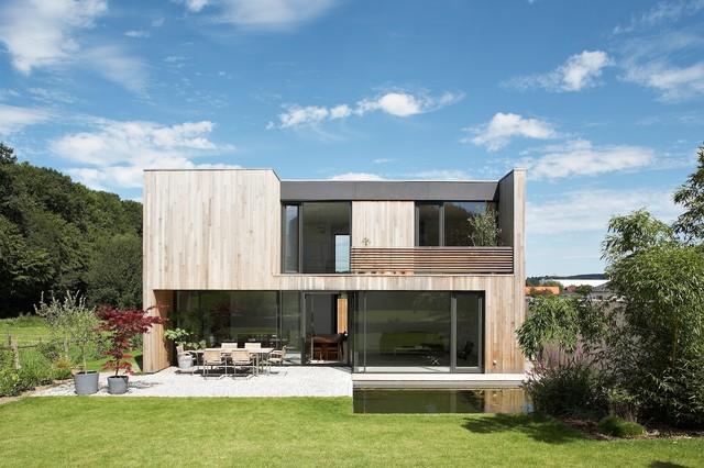 Häuser b1 b2 modern exterior