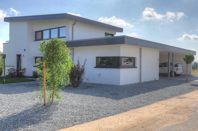 hanghaus minimalistisch haeuser moderne architektur