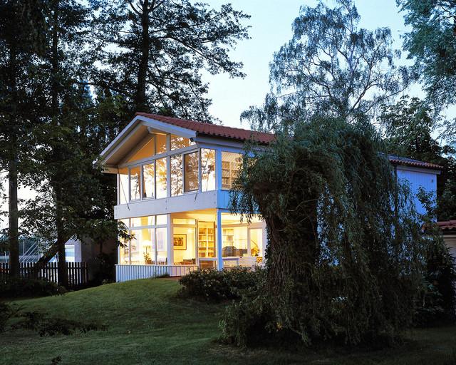 Skandinavisches haus am see  Haus am See - Skandinavisch - Häuser - Hannover - von HÜBOTTER+ ...